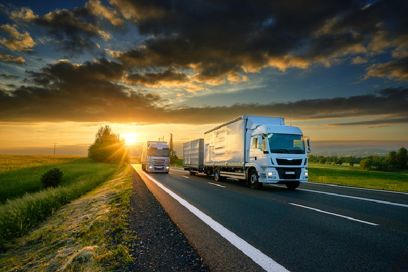حمل کالا با کامیون و ترانزیت