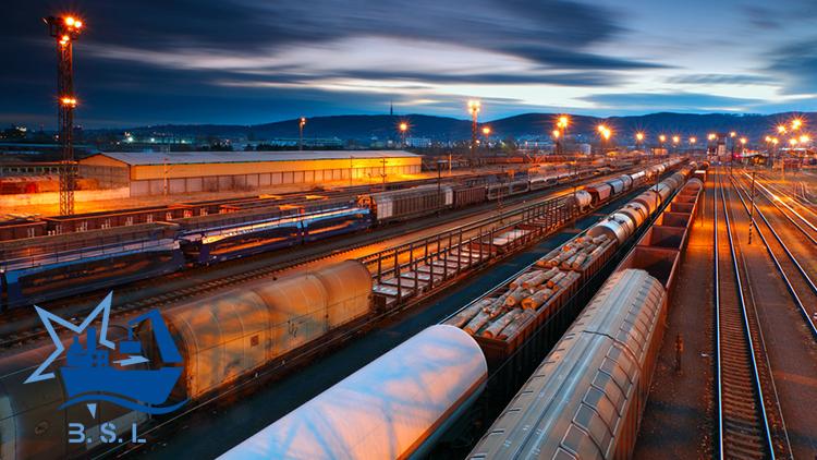 حمل و نقل ریلی بین المللی