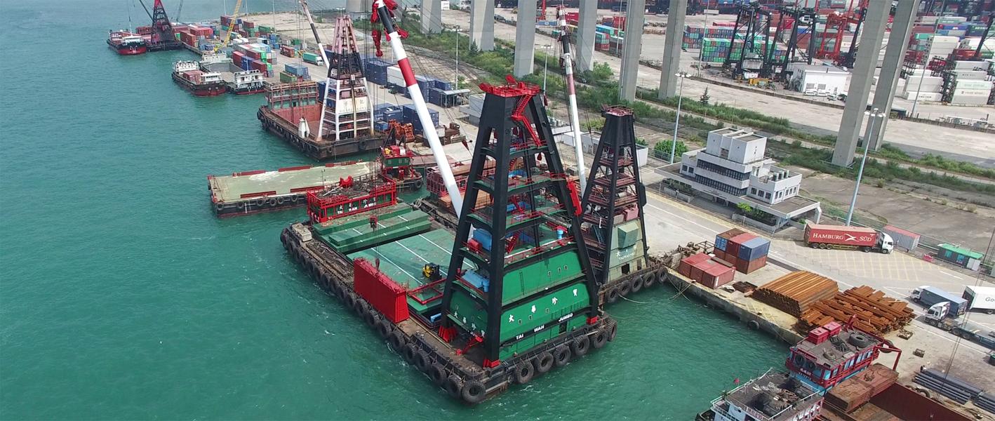 حمل و نقل زمین دریا
