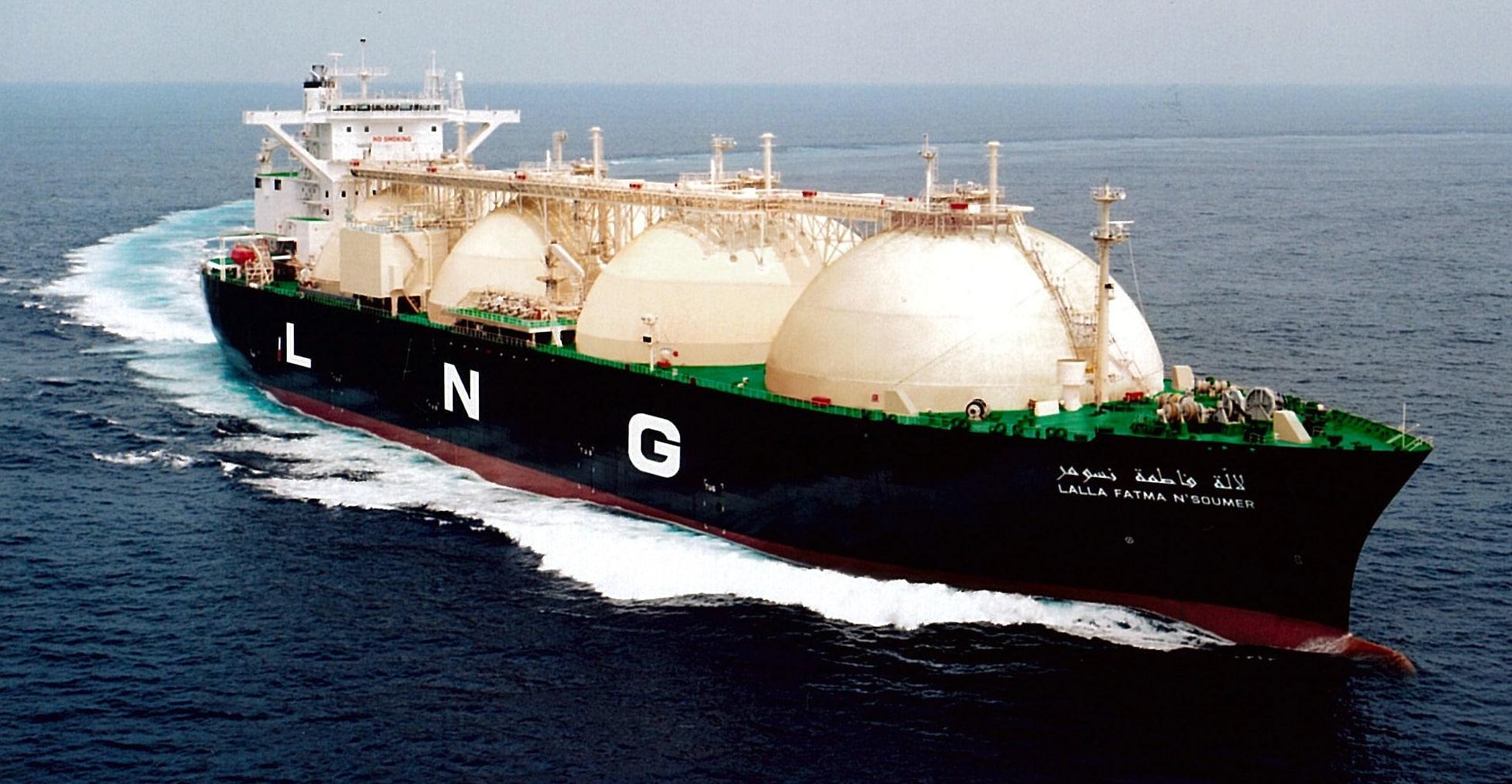 کشتیهای حمل گاز