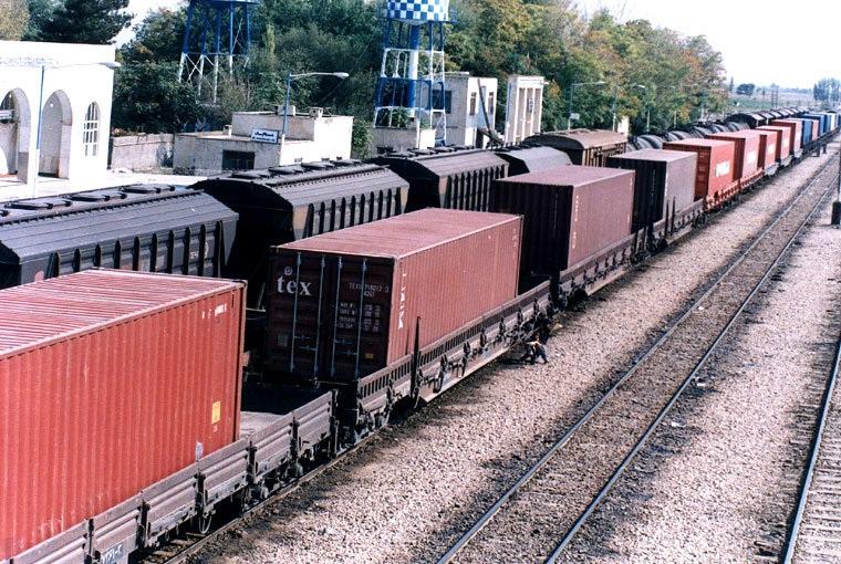 حمل کالا با راه آهن